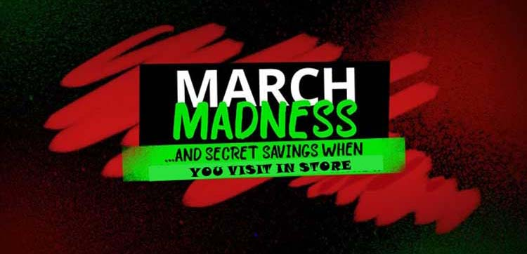 March Madness Sale 3